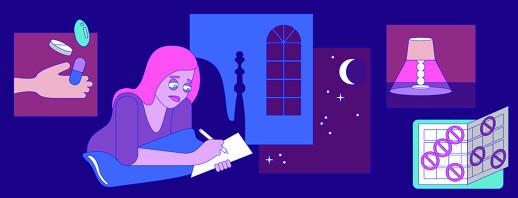 Insomnia: Unpredictable Sleep Patterns image